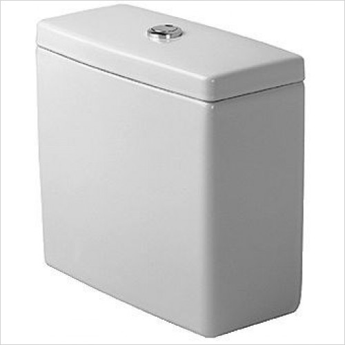 Duravit Optional Extras - Starck 3 Cistern With Dual Flush