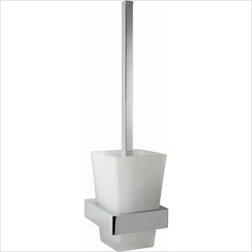 VADO Accessories - Shama Toilet Brush & Holder Wall mounted