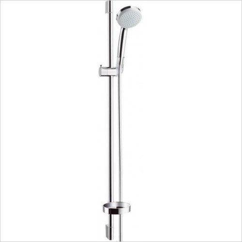 Hansgrohe Showers - Croma 100 Vario/Unica'C Complete Shower Set 0.90m