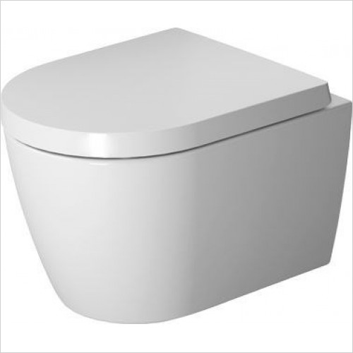 Duravit - Toilets - ME By Starck Toilet Wall Mounted 480mm Washdown Durafix