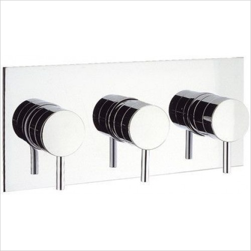Crosswater Showers - Kai Lever Thermostatic Shower Valve With 3 Way Diverter
