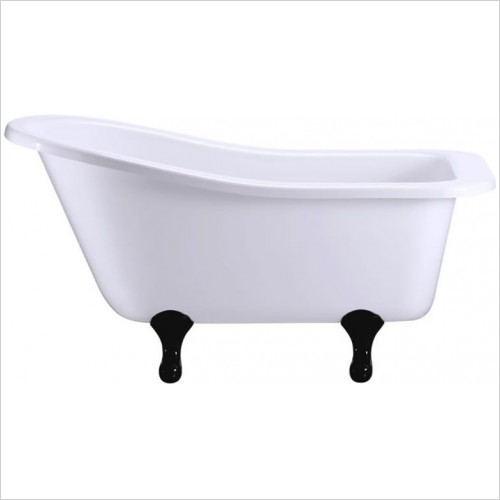 Burlington Baths - Buckingham Slipper Bath No Tapholes 1500 x 750mm