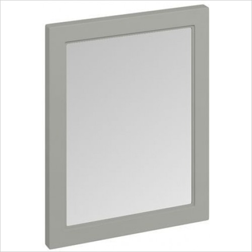 Burlington Accessories - 600mm Framed Mirror (Without LED Lighting)