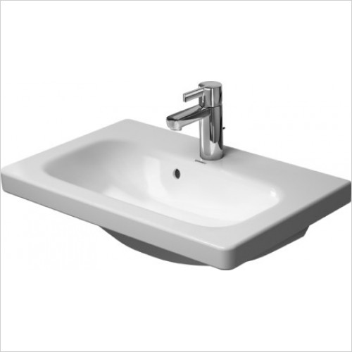 Duravit - Basins - Durastyle Furniture Basin 635mm With Overflow, 1TH