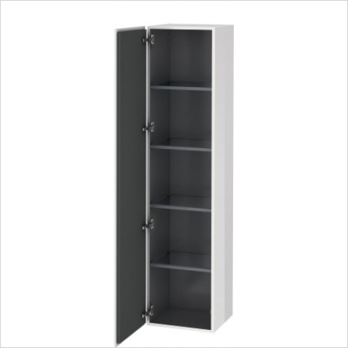 Duravit Furniture - L-Cube Tall Cabinet 1760x400x363mm 1 Door