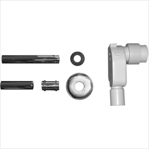 Duravit Optional Extras - Architec In-Wall Siphon Kit For Washbasin H70