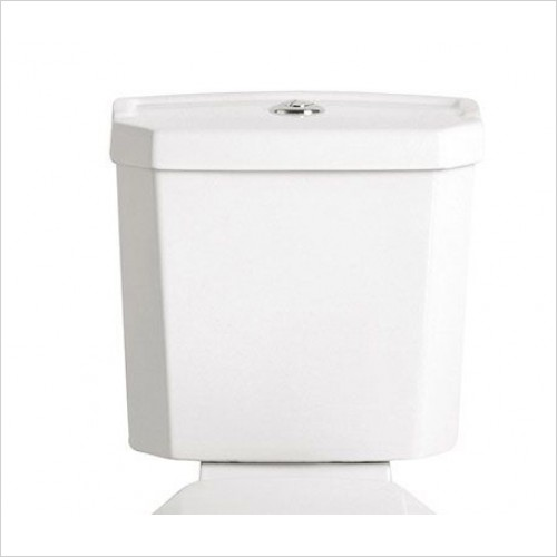 Heritage Optional Extras - Granley Deco Portrait Cistern with Push Button Flush
