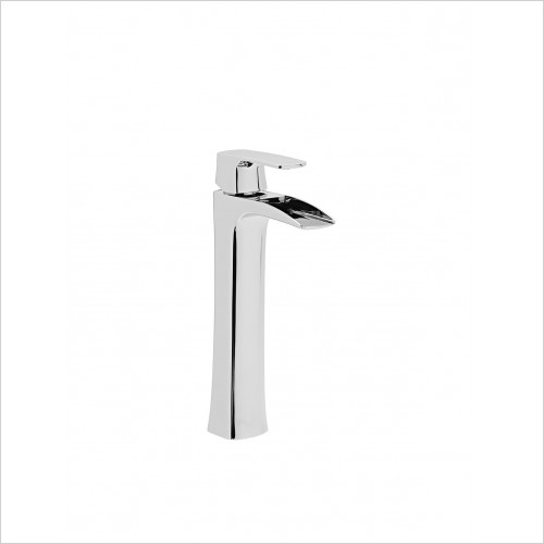 Roper Rhodes Taps - Sign Tall Basin Mixer With Click Waste