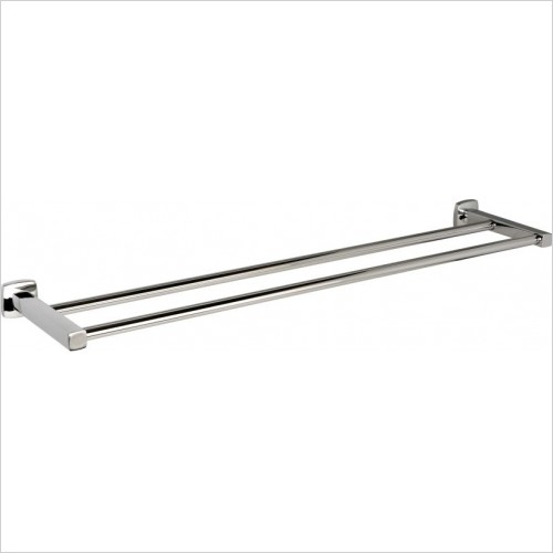 Miller Accessories - Denver Double Towel Rail
