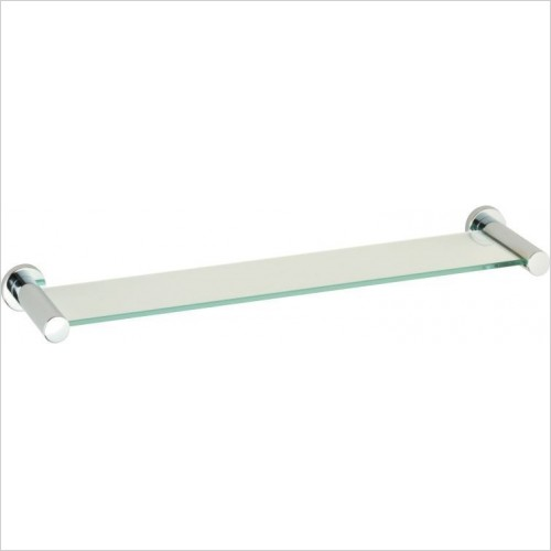 Roper Rhodes Accessories - Minima Toughened Clear Glass Shelf