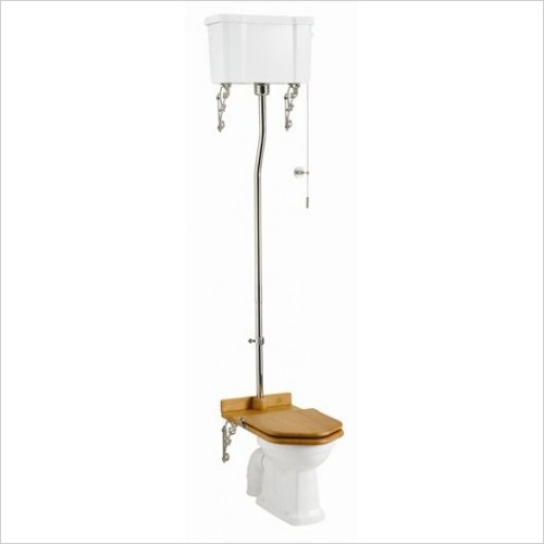 Burlington Toilets - Low/High Level Pan