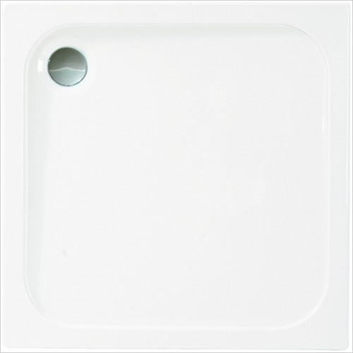 Merlyn Shower Enclosures - MStone Square Shower Tray 760mm
