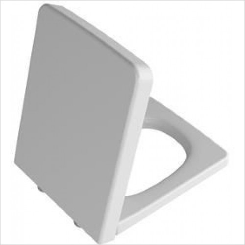 Vitra Toilets - T4 Toilet Seat For Rimless WC