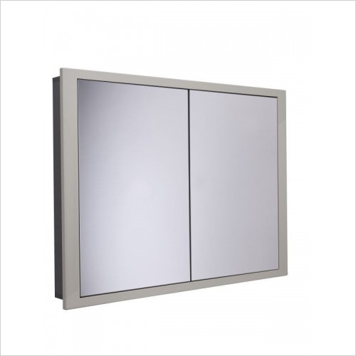 Roper Rhodes Furniture - Scheme1000 x 120mm Recessed Mirrored Bathroom Cabinet
