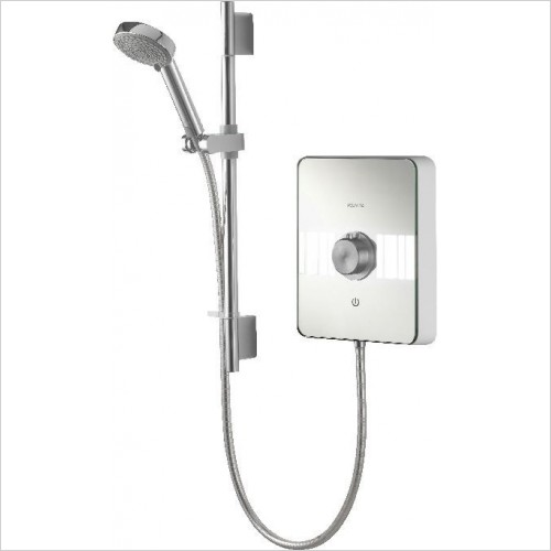 Aqualisa Showers - Lumi Electric Shower 8.5kw With Adjustable Head