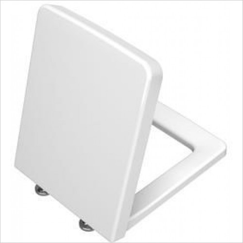Vitra Toilets - T4 Toilet Seat For Rimless WC, Soft Closing