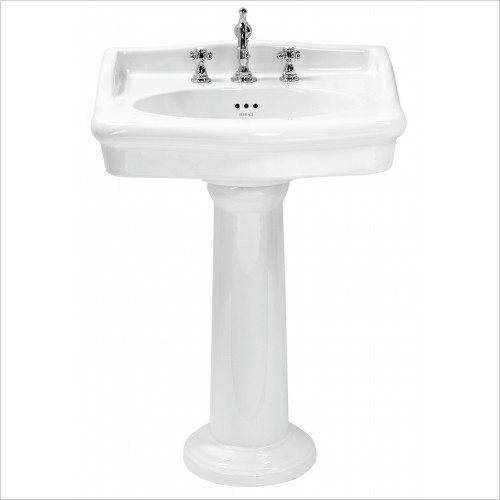 Heritage Basins - Victoria 65cm Standard Basin 3TH