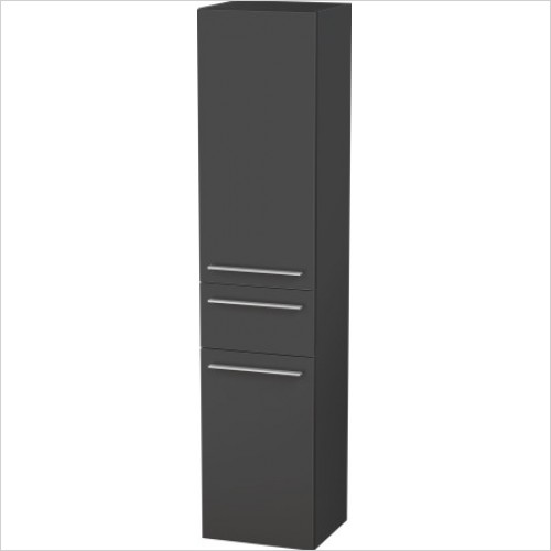 Duravit Furniture - X-Large Tall Cabinet 1760x400x358mm LH Hinge