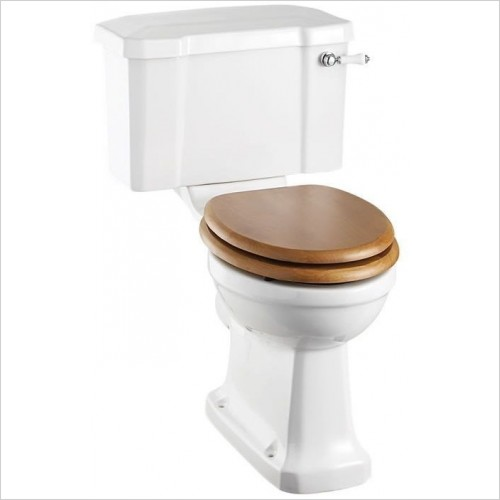 Burlington Toilets - Regal Close Coupled Tall Pan