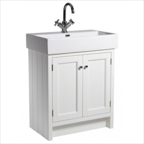 Roper Rhodes Furniture - Hampton 700 Countertop Bathroom Unit in White