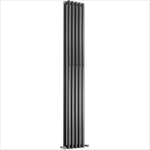 Reina Radiators - Round Double Radiator 1800 x 413mm - Central