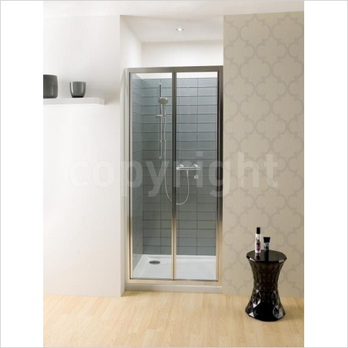 Simpsons Shower Enclosures - Edge Bifold Door