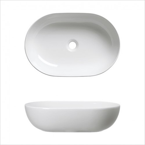Bauhaus Basins - Avilas Counter Basin 540 x 350mm