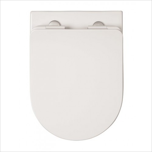 Crosswater Toilet Seats - Glide II Soft Close Seat 46