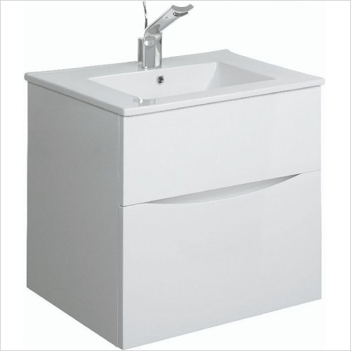 Crosswater Bathroom Furniture - Glide II F Basin Unit 500mm