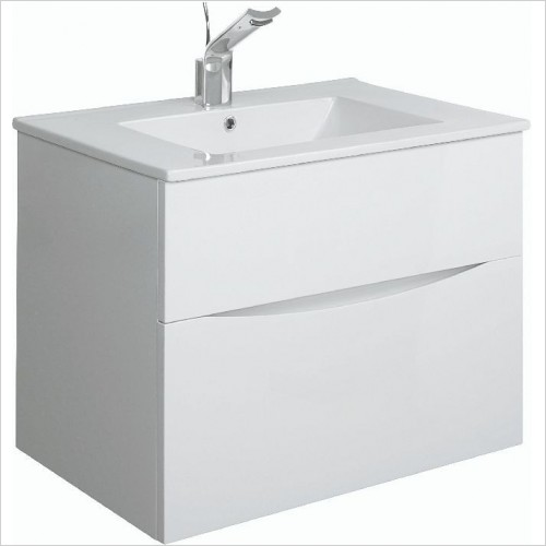 Crosswater Bathroom Furniture - Glide II F Basin Unit 700mm