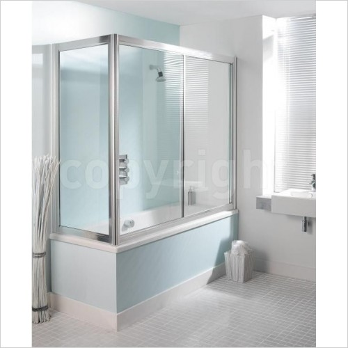 Simpsons Shower Enclosures - Supreme Overbath Slider
