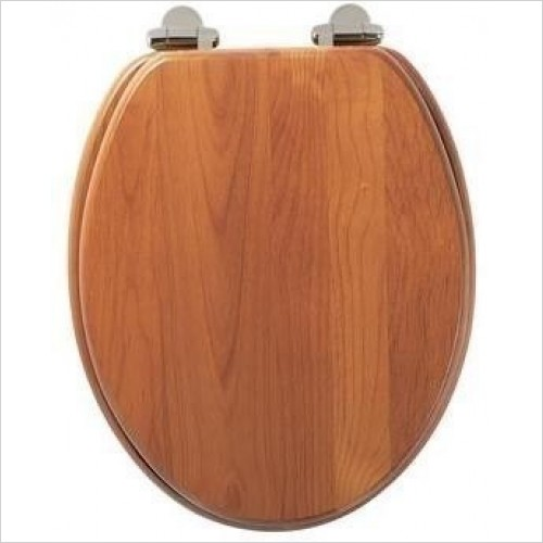 Roper Rhodes Toilet Seats - Traditional Soft Close Toilet Seat - Antique Pine