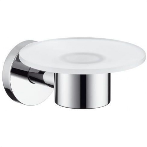 Hansgrohe - Accessories - Logis Glass Bathroom Soap Dish