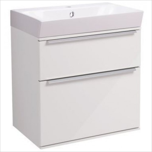 Roper Rhodes Furniture - Scheme 500mm Wall Mounted Double Drawer