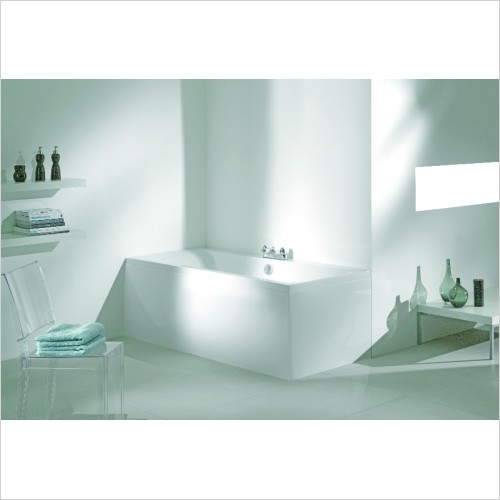 Adamsez Baths - Sona Double Ended Bath 1700x750mm