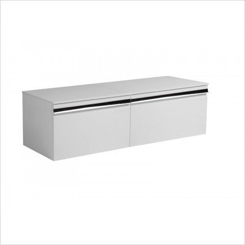 Roper Rhodes Furniture - Pursuit 600 Wall Mounted Bathroom Vanity in White Painted