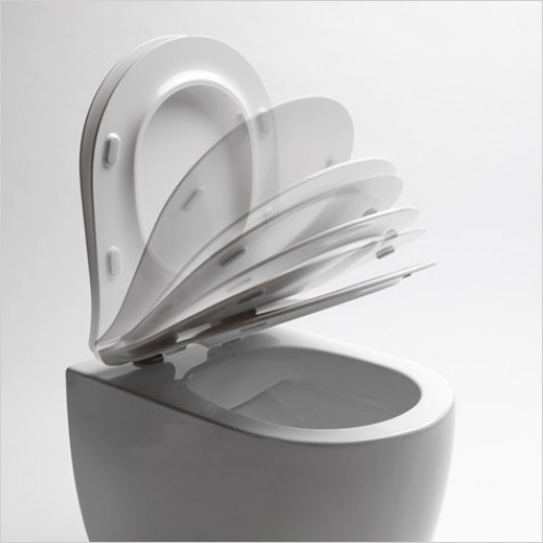 Crosswater Toilet Seats - Infinity Thin Soft Close Seat