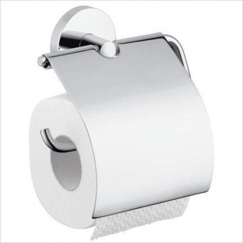 Hansgrohe - Accessories - Logis Roll Holder With Cover