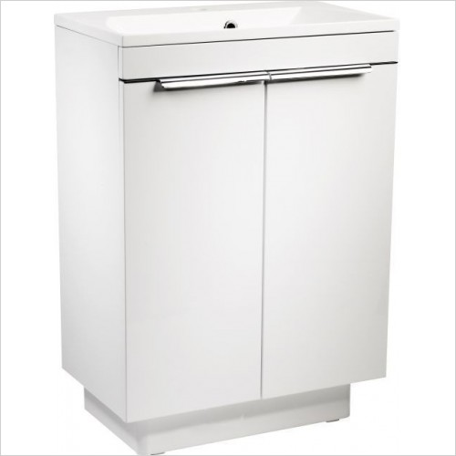 Roper Rhodes Furniture - Cypher 600mm Freestanding Bathroom Vanity Unit