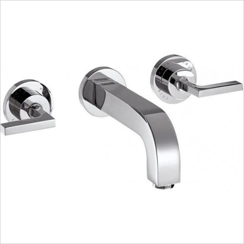 Axor Taps - Citterio 3-Hole Basin Mixer With Lever Handles