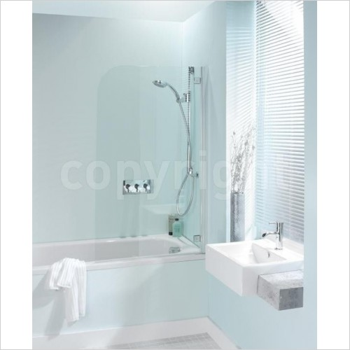 Simpsons Shower Enclosures - Supreme Deluxe Bath Screen