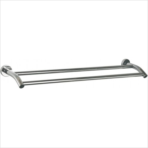 Miller Accessories - Bond Double Towel Rail