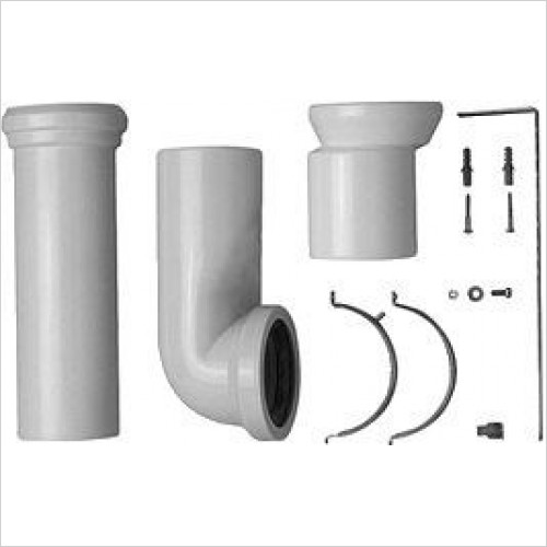 Duravit Optional Extras - Vario Connector Set For Horizontal & Vertical Outlet