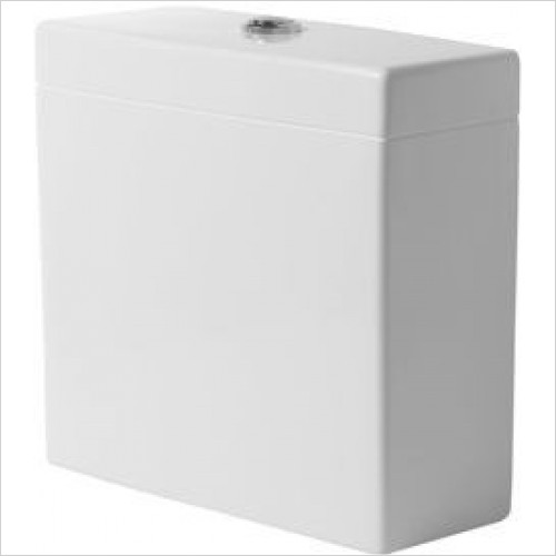 Duravit Optional Extras - Vero Cistern With Dual Flush