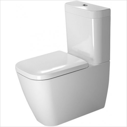 Duravit - Toilets - Happy D.2 Toilet Close Coupled 630mm Washdown Vario Outlet