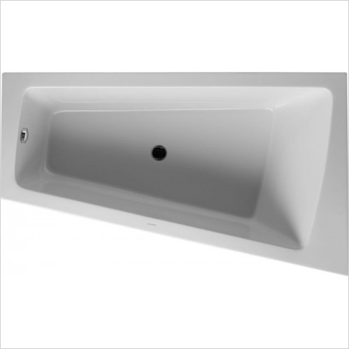 Duravit Baths - PaioVA Bathtub 1700x1000mm Corner Right With Integrated Pane