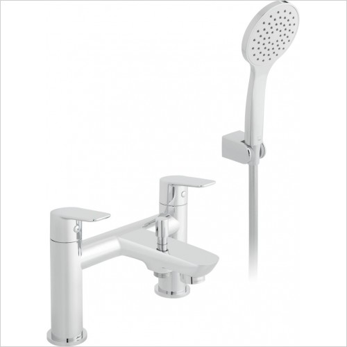 VADO Showers - Photon 2 Hole Bath Shower Mixer Deck mounted