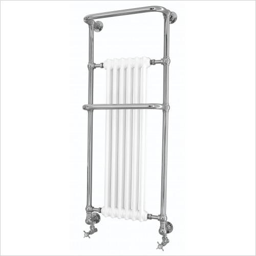 Heritage Heating - Cabot Wall Heated Towel Rail