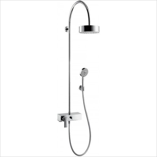Axor Showers - Citterio Showerpipe With Thermostatic Mixer
