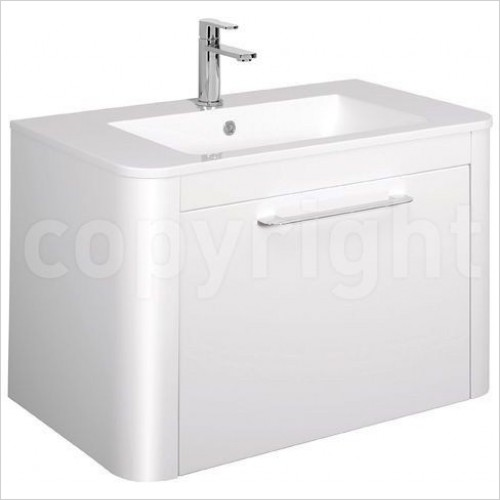 Bauhaus Furniture - Celeste F Vanity Unit Single Drawer 800mm